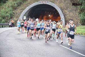 萬里隧道入口終點前1K(去程)