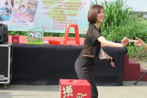 創世基金會屏東分院植愛公益路跑暨慶祝母親節洗腳活動 /網友 Alfred Chen