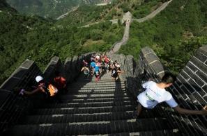 【新聞】身歷其境才知難!黃崖關長城馬拉松選手挑戰 5164 石階