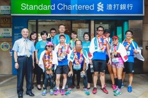【新聞】新竹風城英雄惜英雄 北中南 500視障接力  在地英雄啦啦隊為跑者加油!