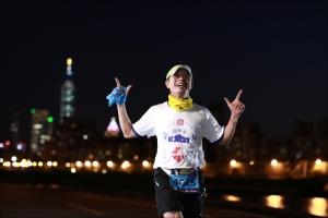 16公里處 /網友 張廖君旭/很可惜!燈光美氣份佳沒跑者!