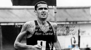 【跑者雋語】一個跑手最艱難的一步,就是踏出門口的一步