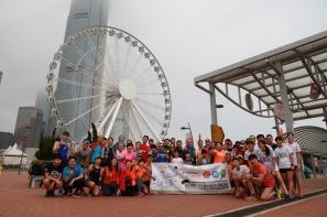 12位跑手幪眼跑 合共完成140公里 「幪眼100大挑戰」眾籌活動 支持盲人聾人跑出共融