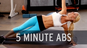 【跑步好影片】5分鐘腹肌訓練