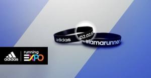 製作你的專屬adidas X 臺北馬拉松完賽成績手環