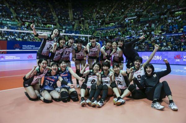 日本 / 國家聯賽女排持續低迷;男排表現不俗