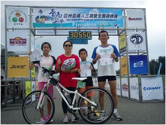 [台灣跑透透] 全家總動員之2013台南安平鐵人三項接力賽暨我的第5鐵