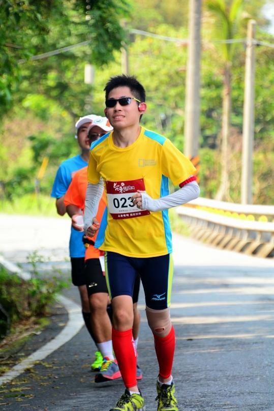 電音三太子也喜歡跑的零PM2.5。台東馬拉松 2015 Taitung Marathon