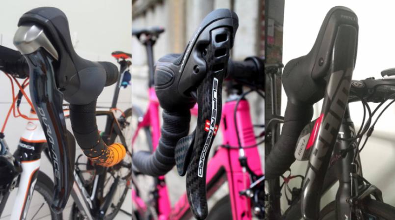 【裝備】自行車的變速把手種類