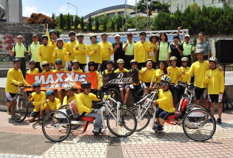 【新聞】16名身障大學生挑戰單車環島 請民眾給予加油與祝福