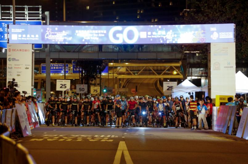 逾5400名車手 齊聚香港單車節