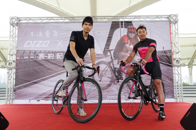 DIZO贊助車手參賽 劉書銘拚衛冕48H環台冠軍