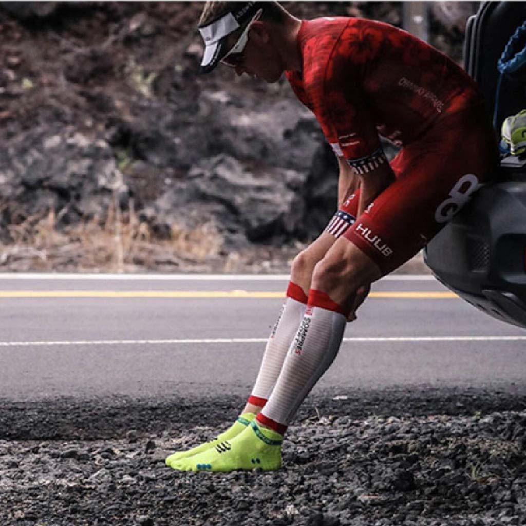 瑞士【Compressport】減緩8%衝擊力 R2 OXYGEN 高透氧小腿套(專利按摩纖維、60段壓縮設計)9