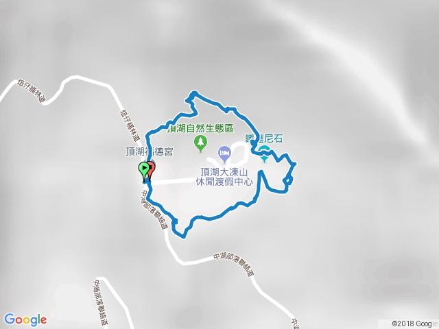 阿里山頂湖步道