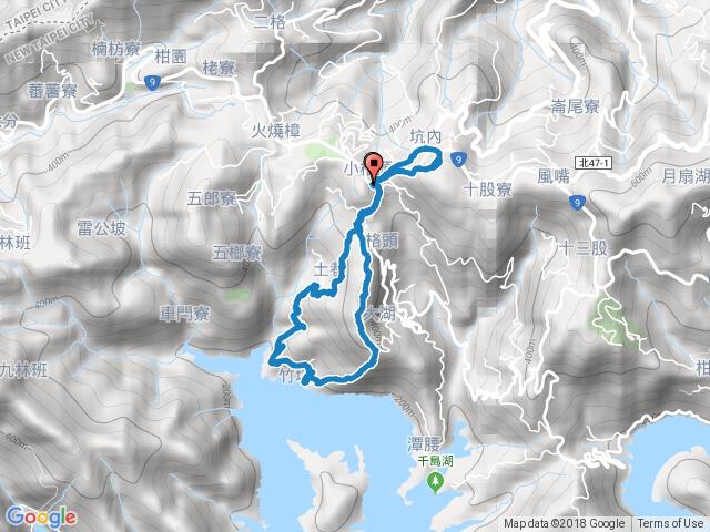 石碇【小格頭獅頭山】「鱷魚島觀景平台」「雲海國小」