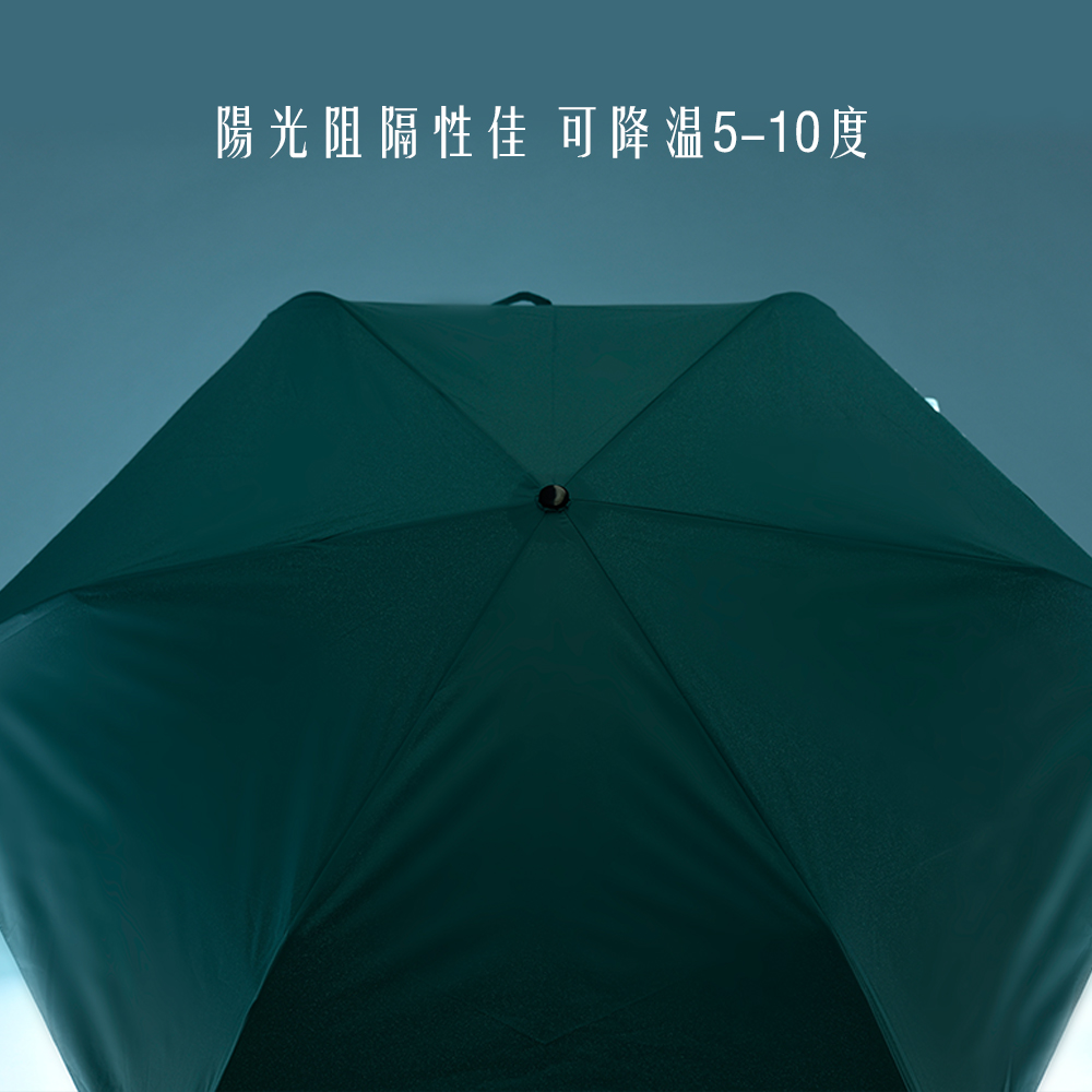 【HOSWA】極輕量降溫傘 3件組(58cm、台灣製)18