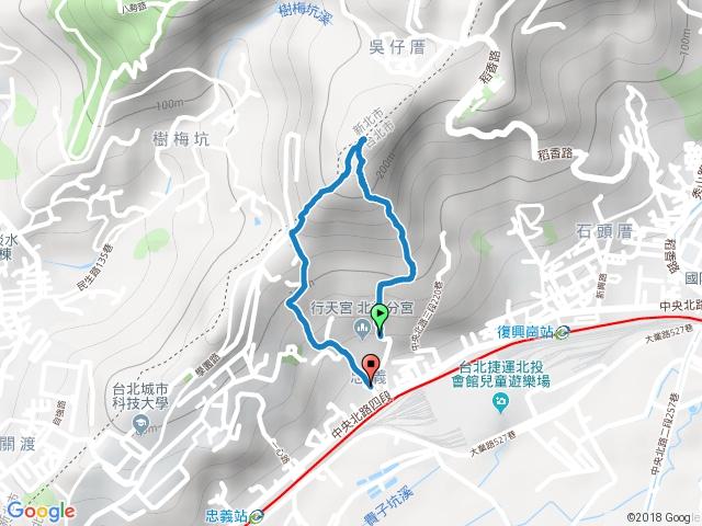 忠義山O型雙三角點 20180216