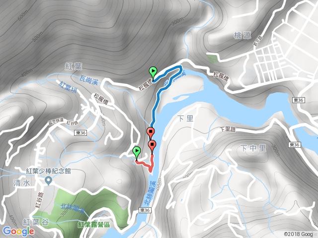 台東紅葉溫泉步道