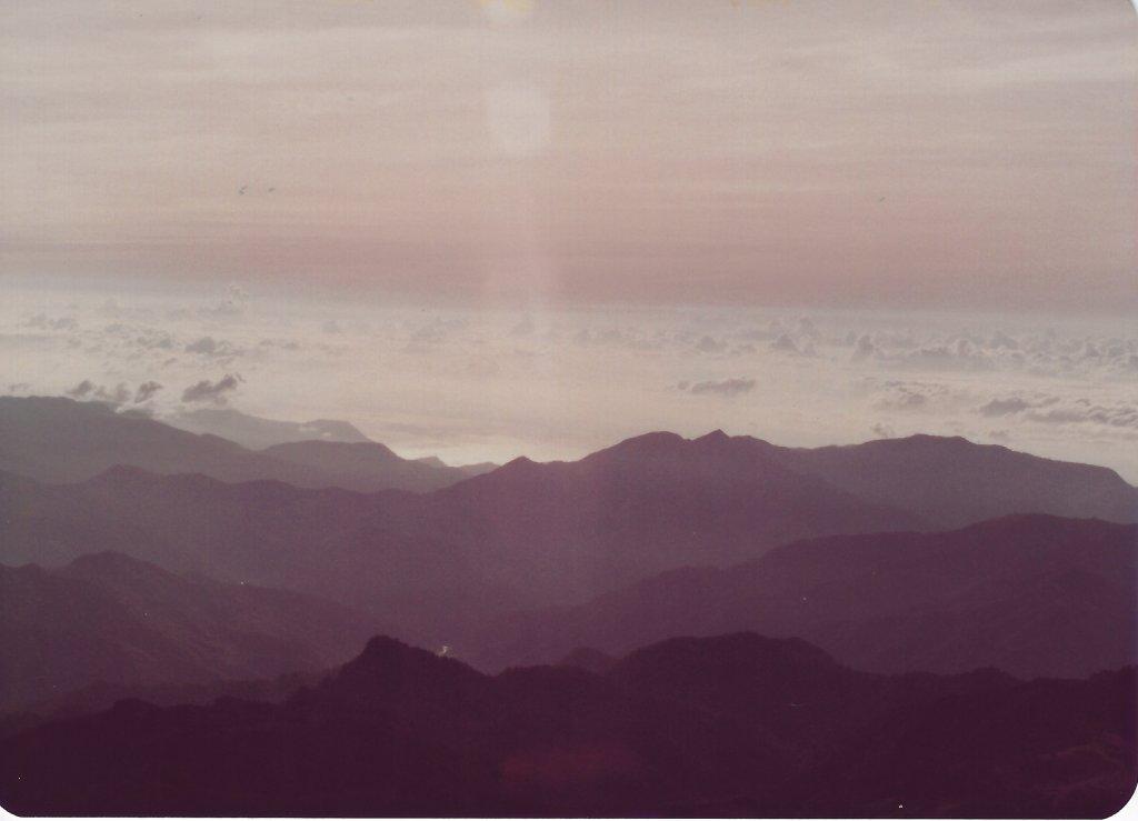南湖群峰及中央尖山(民國72年)_716230