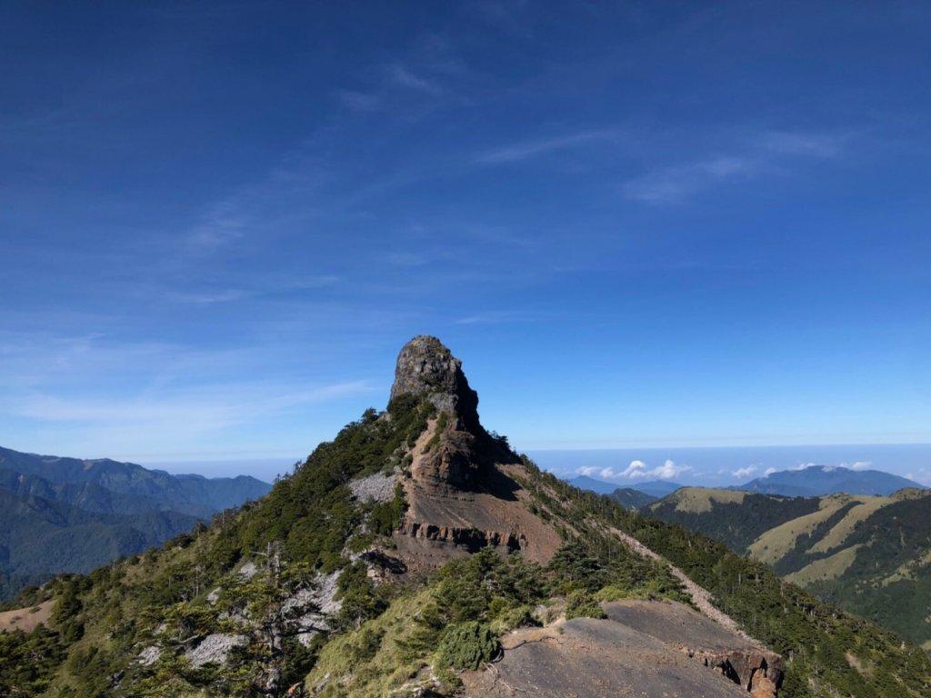 世紀奇峰大霸尖山、小霸尖山、伊澤山、加利_690031