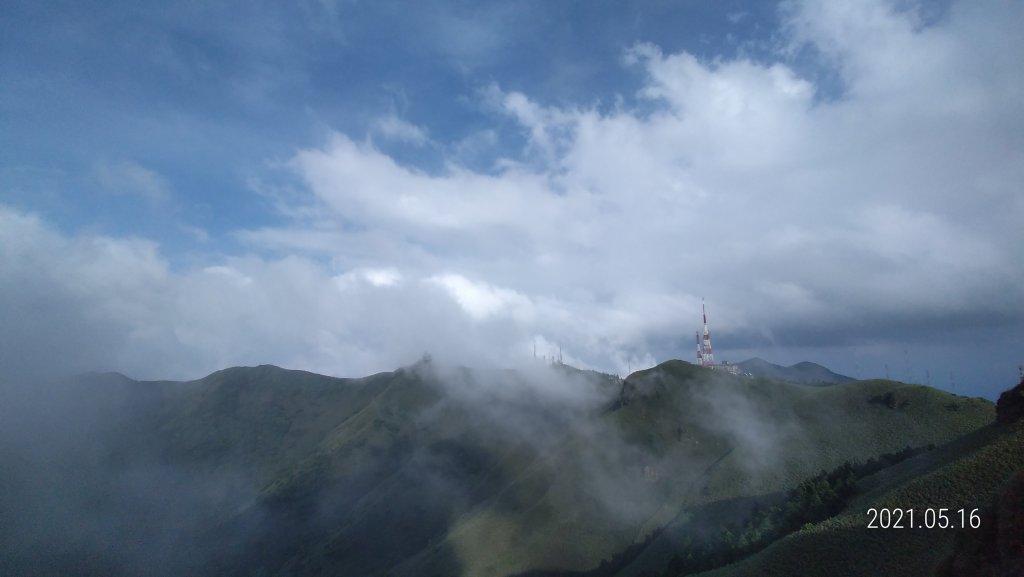 再見觀音圈 - 山頂變幻莫測,雲層帶雲霧飄渺之霧裡看花 & 賞蝶趣_1390110