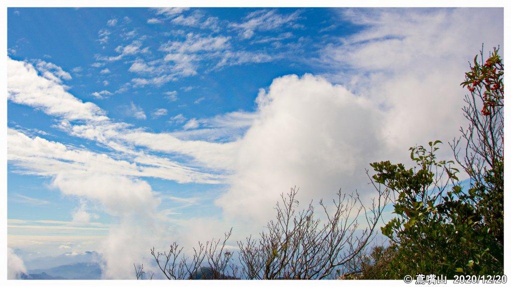 鳶嘴山之雲 稍來山之紅_1215271