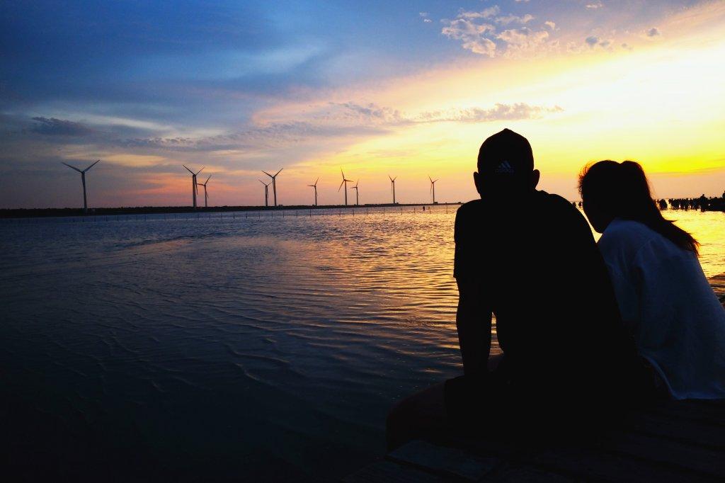 無敵夕陽美景...高美濕地_637120