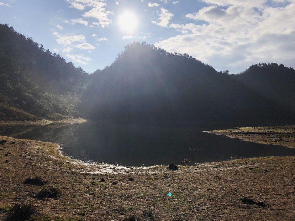 山天山夜山露營#1 松蘿湖登山步道_323472