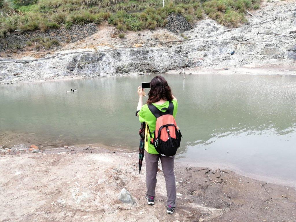 溪水潺涓的半嶺水圳步道、硫氣氤氳的龍鳳谷_890908