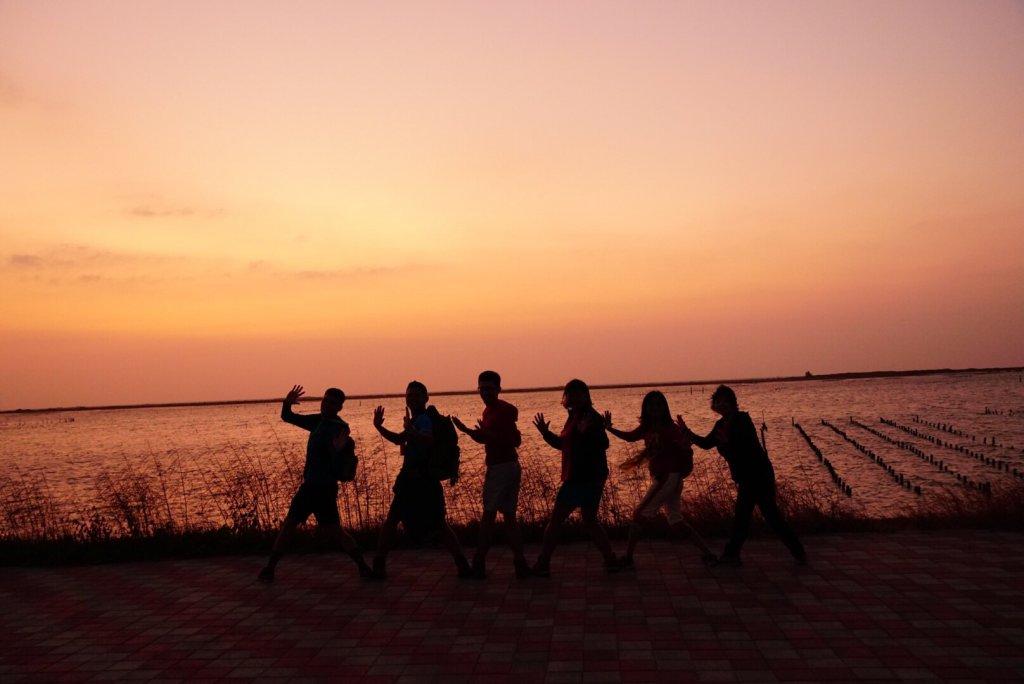七股井仔腳看夕陽、散步小南海、漁光島戲水_708627