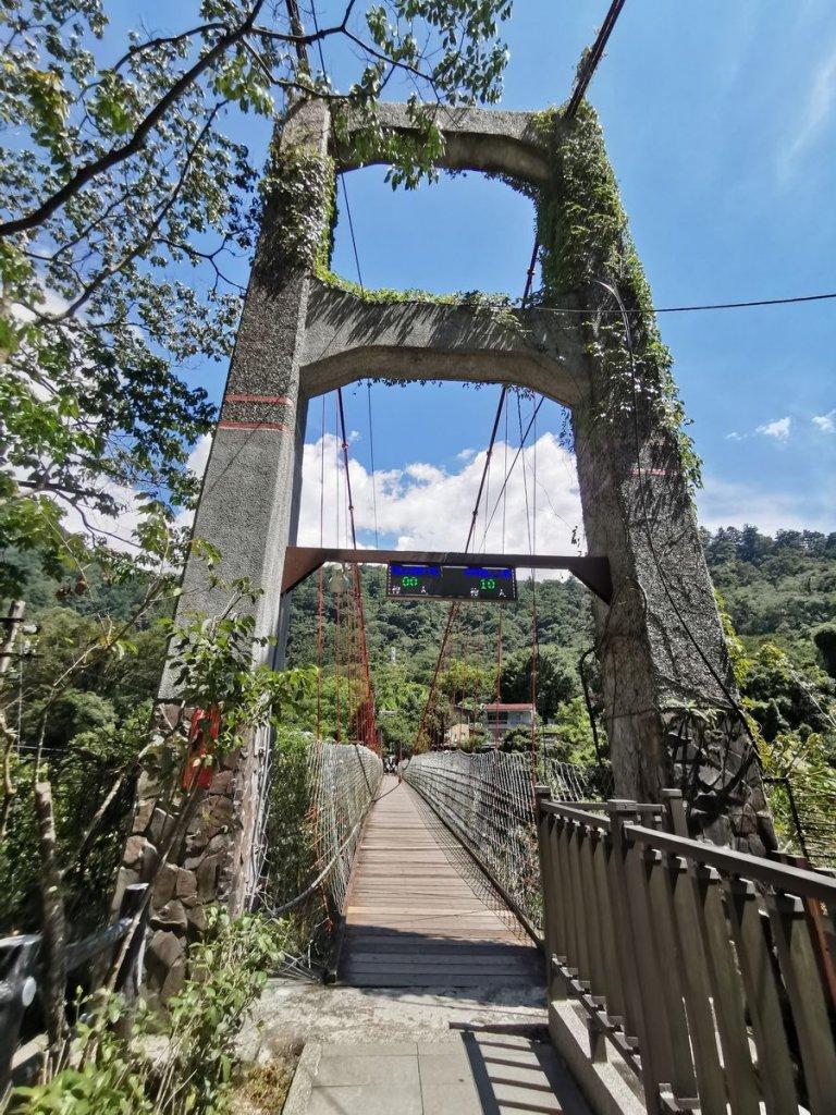 捎來步道-能一次經過兩座吊橋的步道_1049593