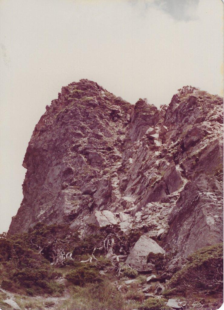 南湖群峰及中央尖山(民國72年)_716236