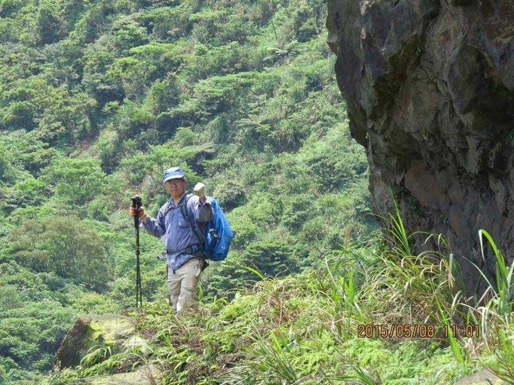 【春夏之際】山林秘境:鉅齒稜大峭壁、瑞芳的錐麓古道、小鬼瀑布_18736