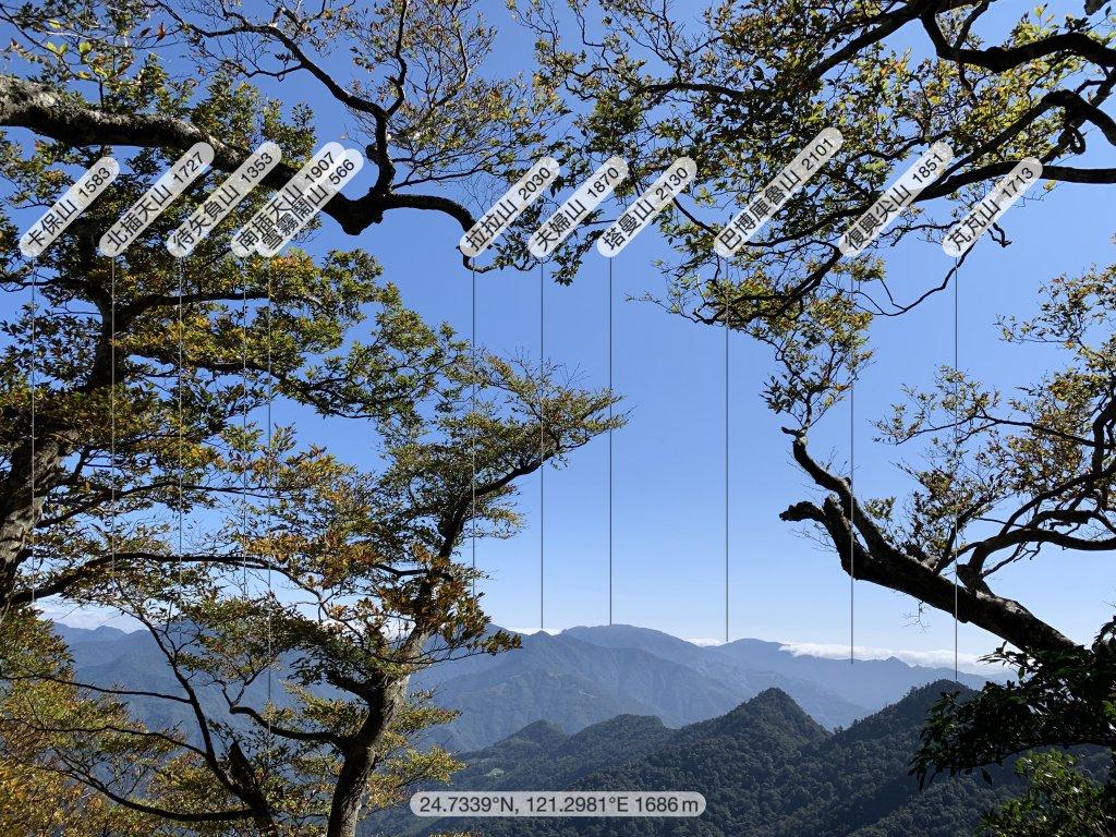 【中級山】北得拉曼、內鳥嘴山、金黃山毛櫸_1170849