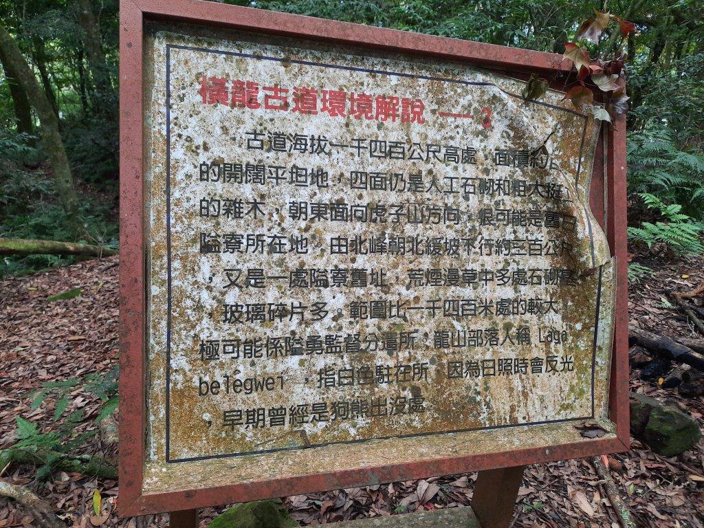 騰龍山 橫龍山北峰 橫龍山 O型_1205362