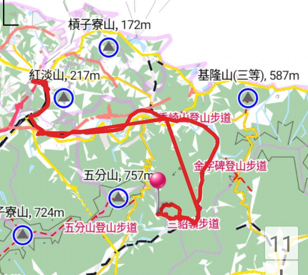 2018.06.24下雨後 單攻 三貂嶺瀑布群步道_356593
