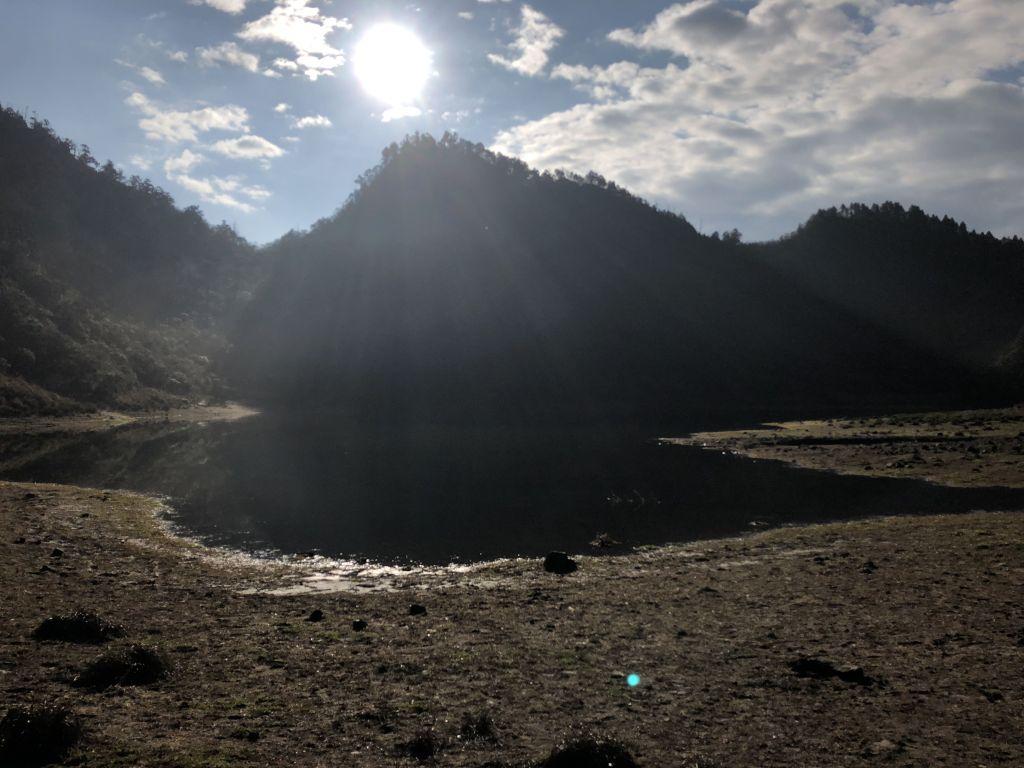 山天山夜山露營#1 松蘿湖登山步道_323353