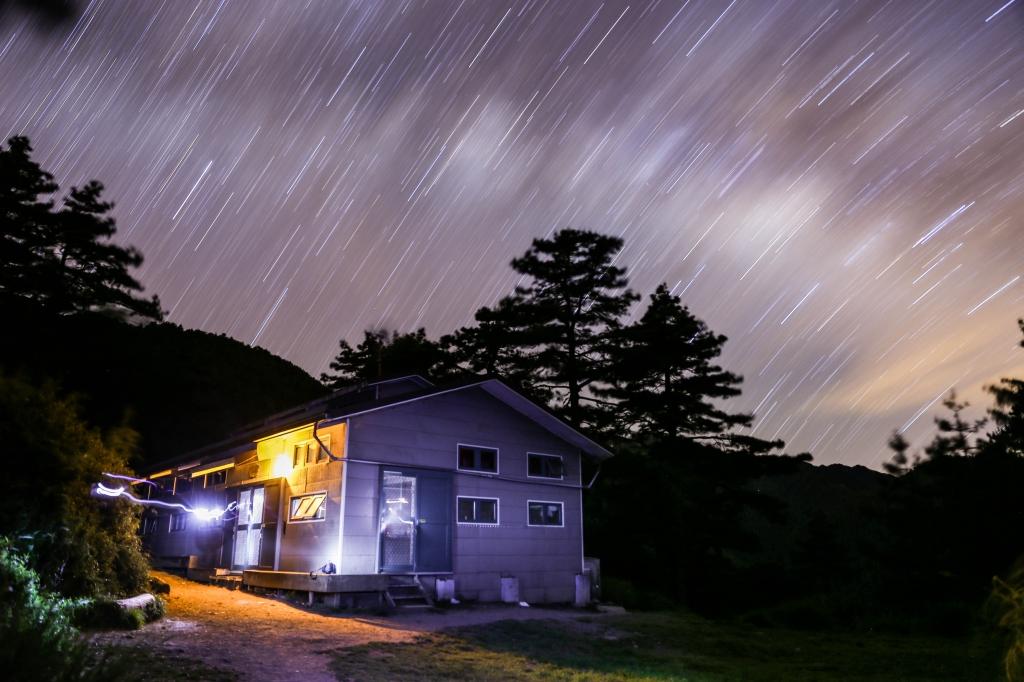 漫步在南湖星空的夜晚_18899