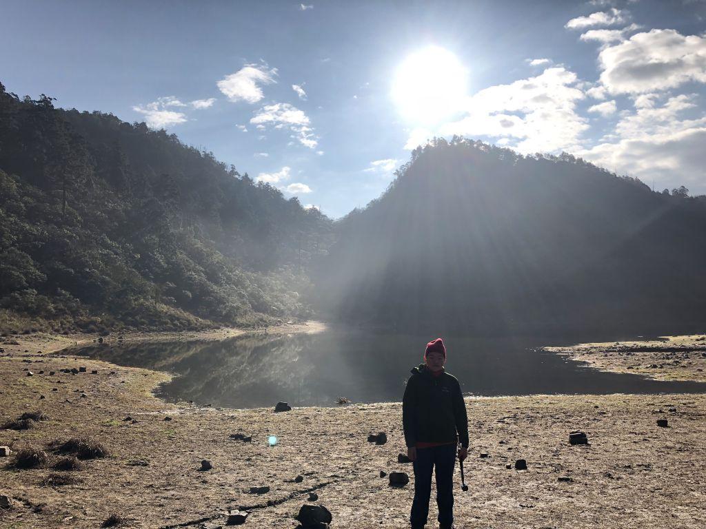 山天山夜山露營#1 松蘿湖登山步道_323364