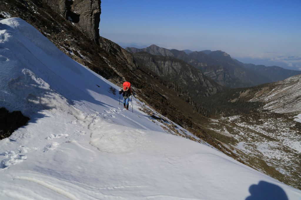2018雪季走雪山西稜_297916
