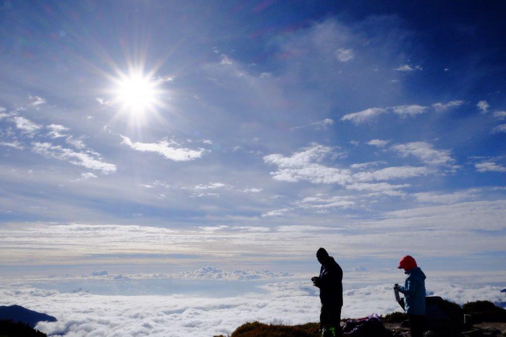 站在雲端上--奇萊主北行_727356