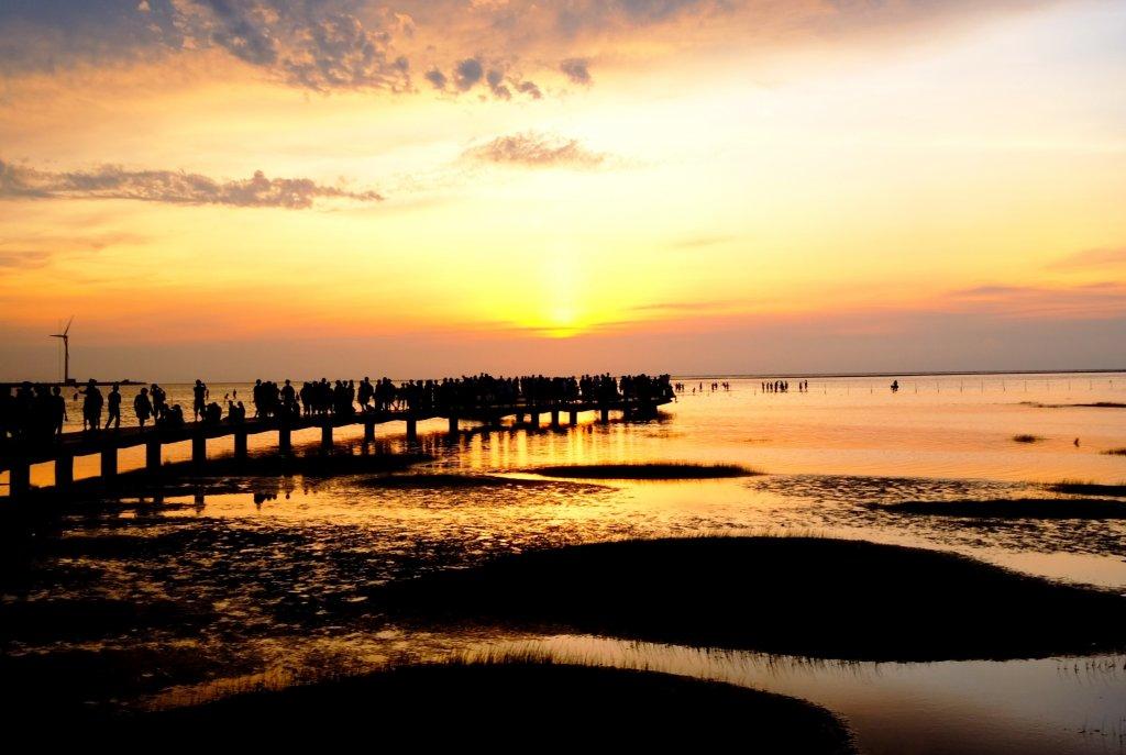 無敵夕陽美景...高美濕地_637116