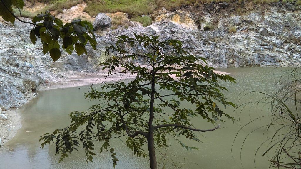 溪水潺涓的半嶺水圳步道、硫氣氤氳的龍鳳谷_890897