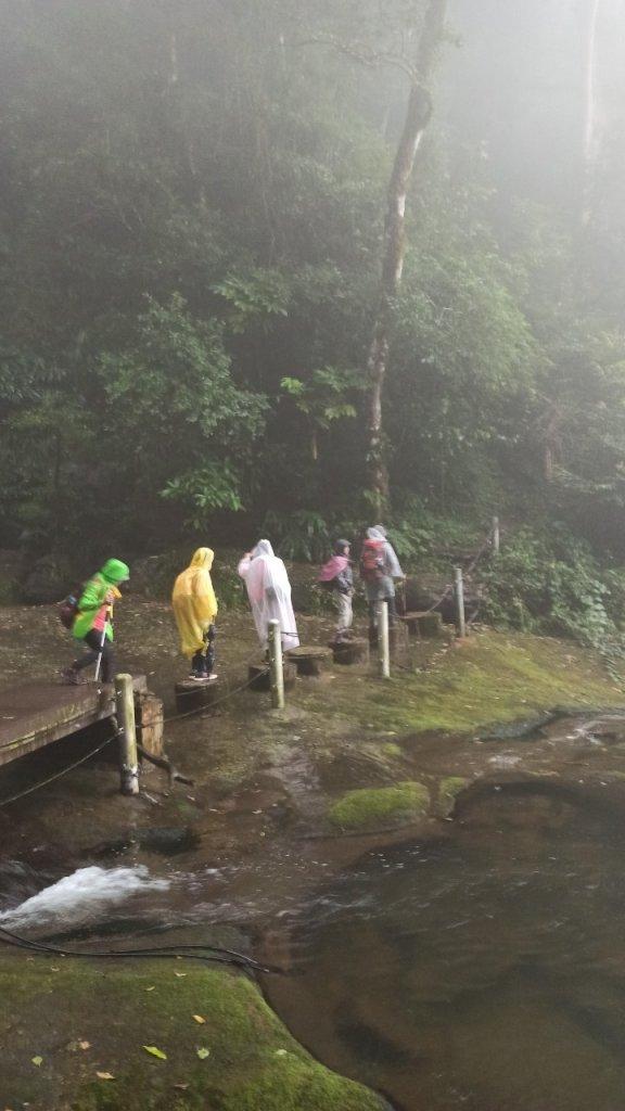 風雨飄搖中的石夢谷、情人谷瀑布步道_1134893