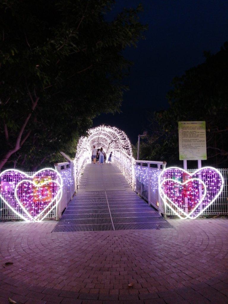 八卦山天空步道之鵲橋夜景_1100862