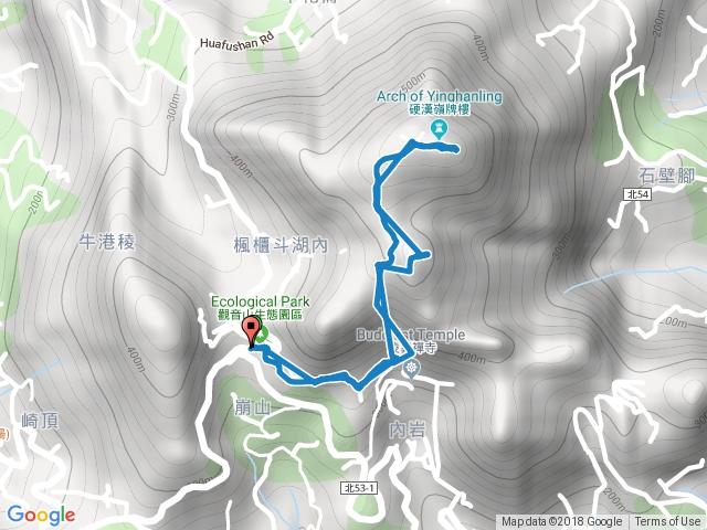 20180715 觀音山硬漢嶺單攻來回