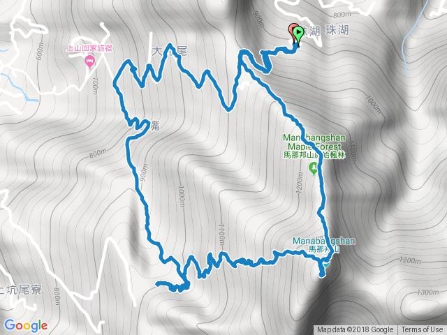 馬那邦山O型~珠湖登山口(親子登山~國二&小六)
