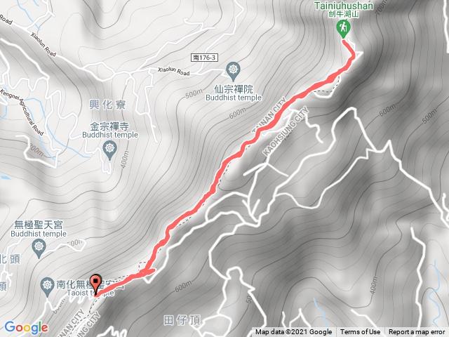 刣牛湖山(小百岳#70):金光山財神廟來回