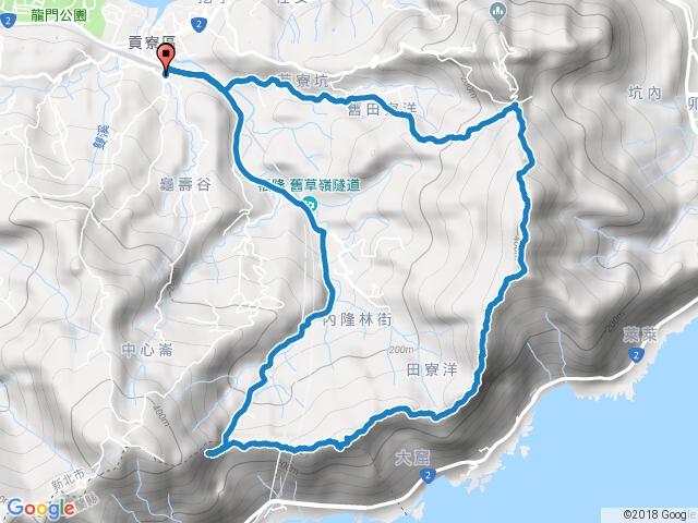 雪山尾稜北段(106/12/31清理,全線暢通)