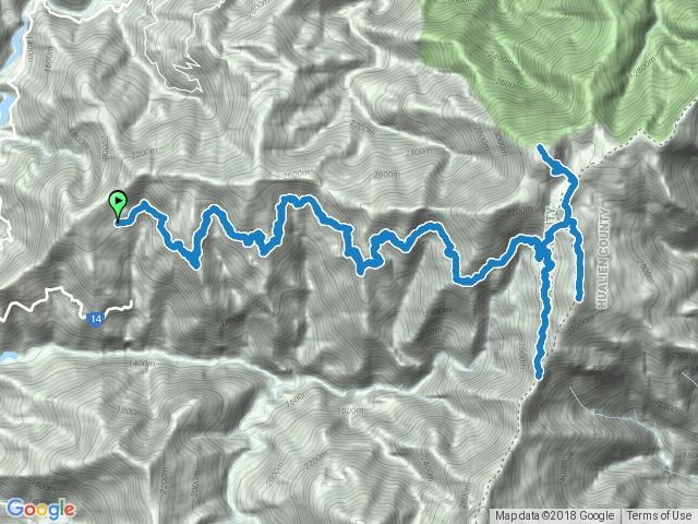 能高越嶺西段至天池山莊、奇萊南峰、南華山、光被八表碑